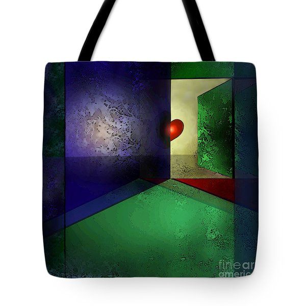Heart's Desire Tote Bag by Carol Jacobs