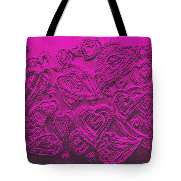 Hearts Of Love Tote Bag