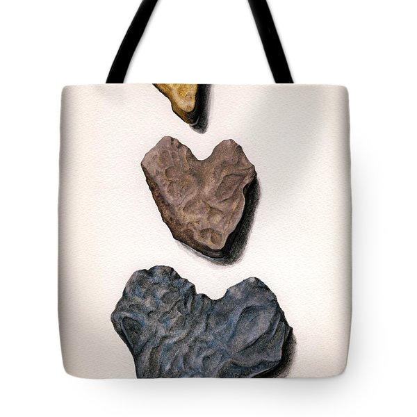 Hearts Rock Tote Bag