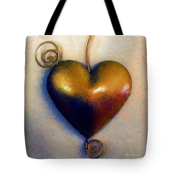 Heartswirls Tote Bag