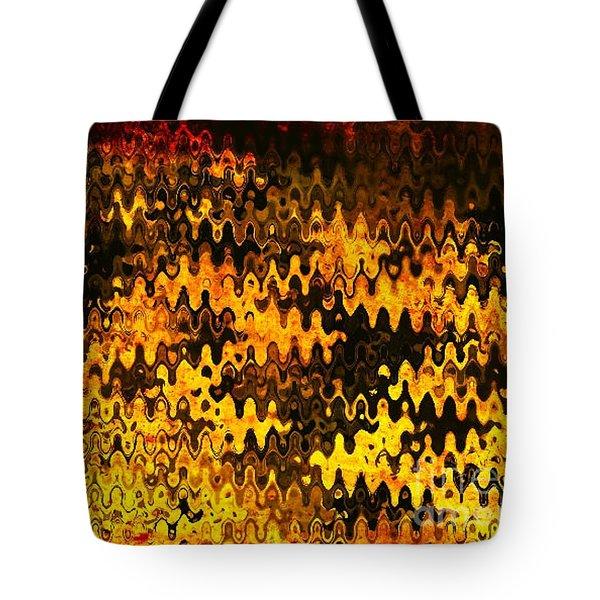 Heat Tote Bag by Anita Lewis