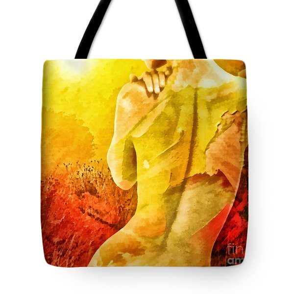 Heat Tote Bag by Mo T