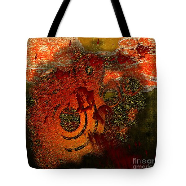 Tote Bag featuring the digital art Heat Of Battle by Clayton Bruster