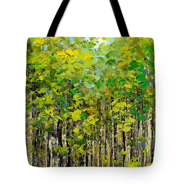 Heat Of Summer Tote Bag