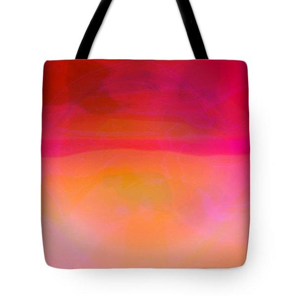 Heat Tote Bag by Pauli Hyvonen
