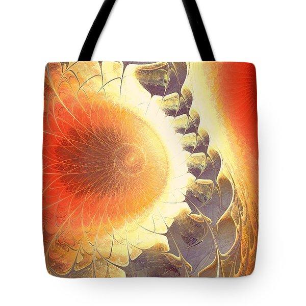 Heat Shield Tote Bag by Anastasiya Malakhova