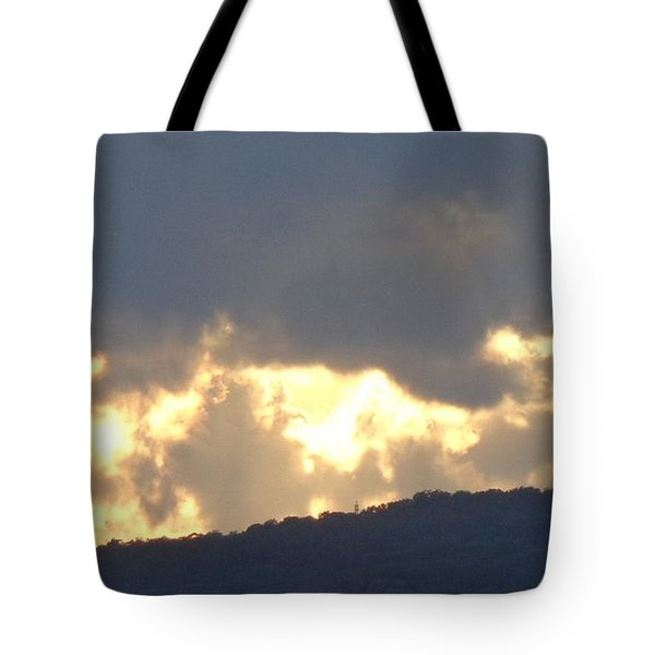 Heated Drama 1of3 Tote Bag by Christina Verdgeline