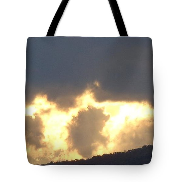 Heated Drama 2of3 Tote Bag by Christina Verdgeline