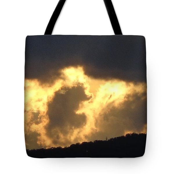 Heated Drama 3of3 Tote Bag