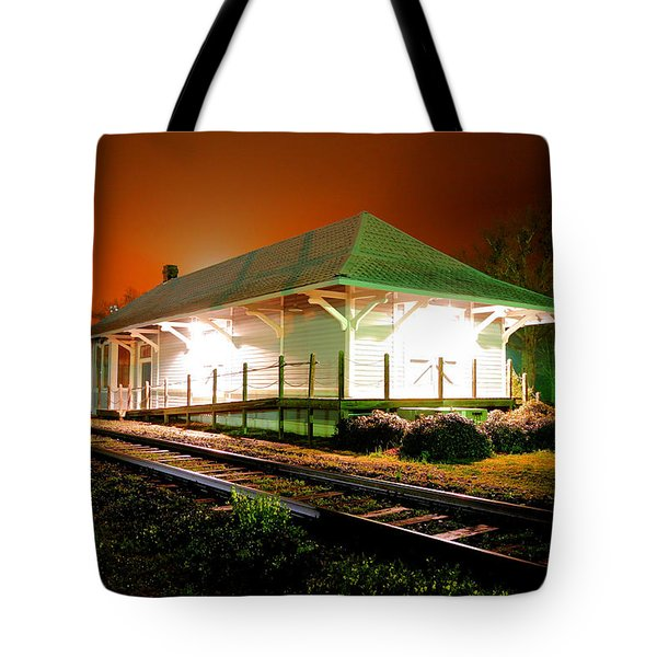 Heath Springs Depot Tote Bag