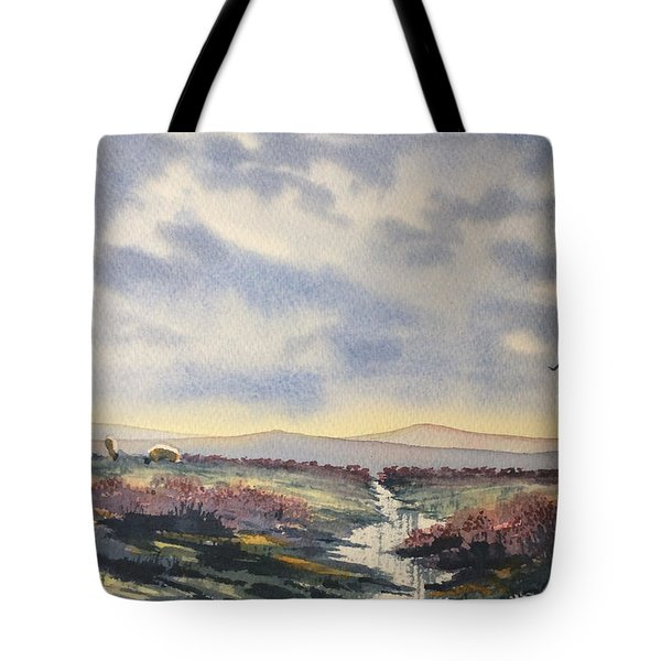 Heather On The Road To Fairy Plain  Tote Bag