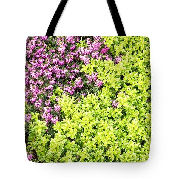 Heather Tote Bag by Tom Gowanlock