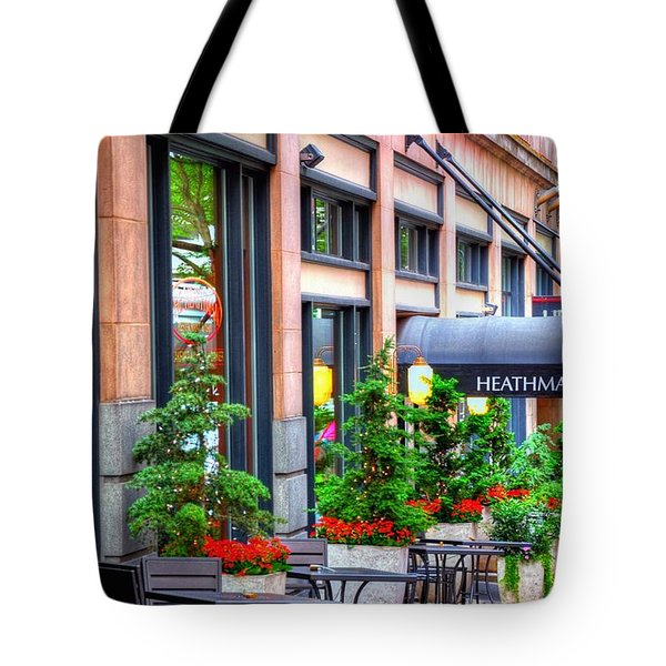Heathman Restaurant 17368 Tote Bag