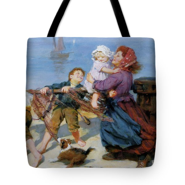 Heave Ho Tote Bag by Arthur John Elsley
