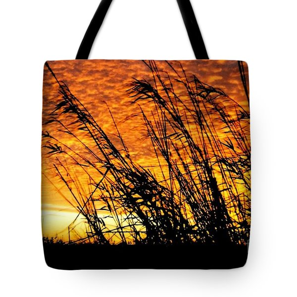 Sunset Heaven And Hell In Beaumont Texas Tote Bag