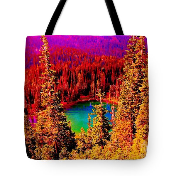 Heaven And Nature Sing Tote Bag by Ann Johndro-Collins
