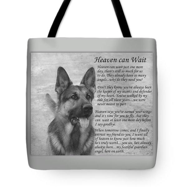 Heaven Can Wait Tote Bag