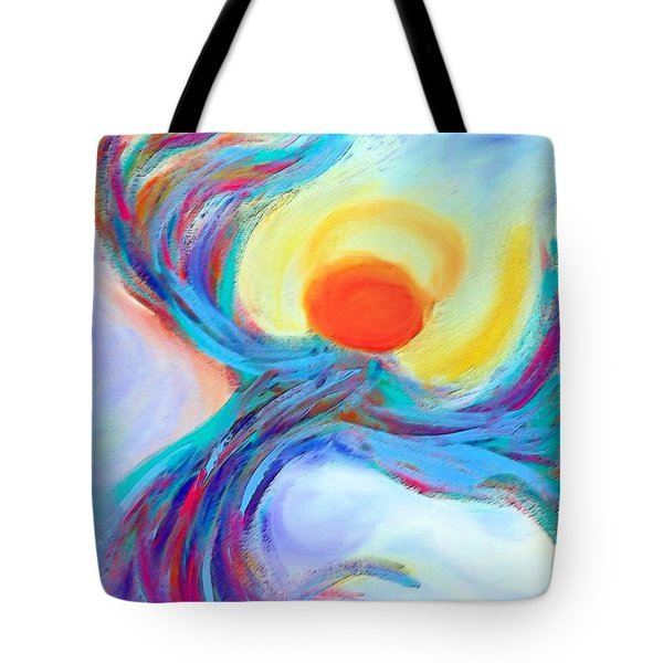 Heaven Sent Digital Art Painting Tote Bag