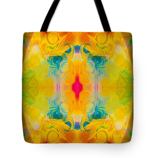 Heavenly Bliss Abstract Healing Artwork By Omaste Witkowski  Tote Bag