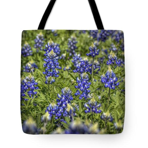 Heavenly Bluebonnets Tote Bag