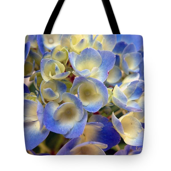 Heavenly Blues Tote Bag by RC deWinter