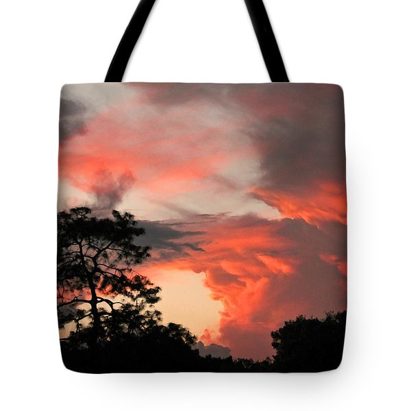Heavenly Bridge Tote Bag