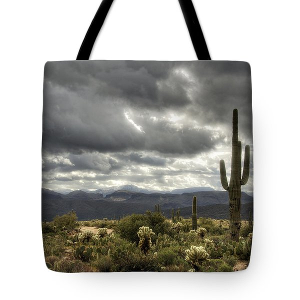 Heavenly Desert Skies  Tote Bag