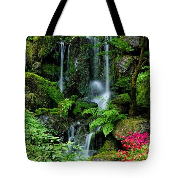 Heavenly Falls Serenity Tote Bag