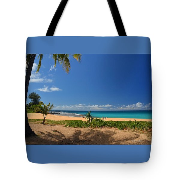 Heavenly Haena Beach Tote Bag