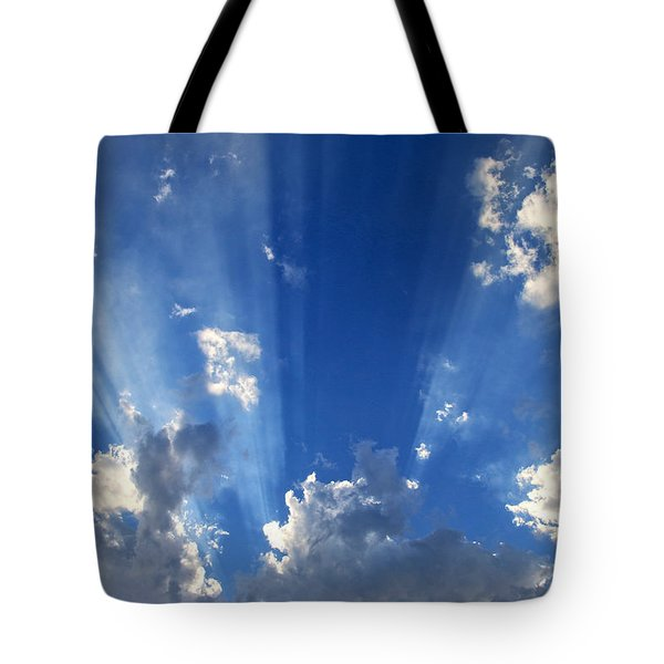 Heavenly Light Tote Bag