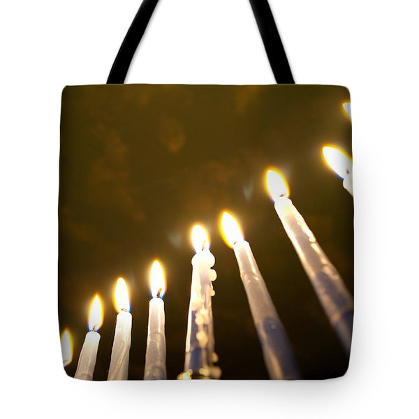 Heavenly Lights Tote Bag by Tikvah's Hope