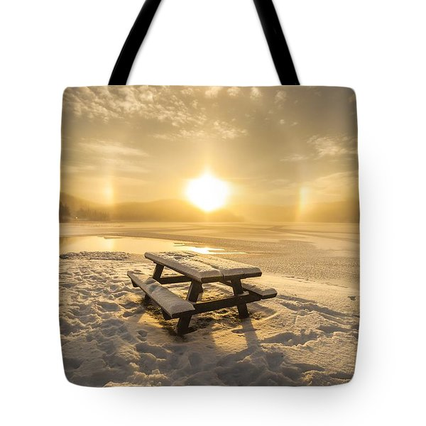 Tote Bag featuring the photograph Heavenly Sleep by Rose-Maries Pictures