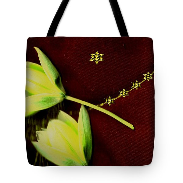 Heavenly Stars On The Sacred Sky Tote Bag