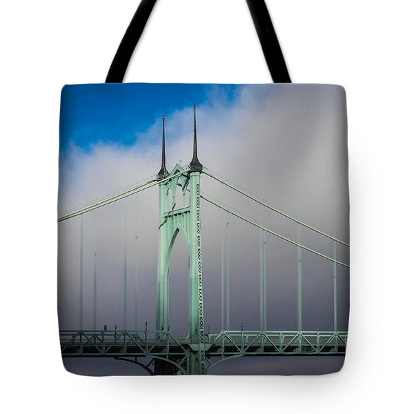 Heaven's Gate Tote Bag by Patricia Babbitt