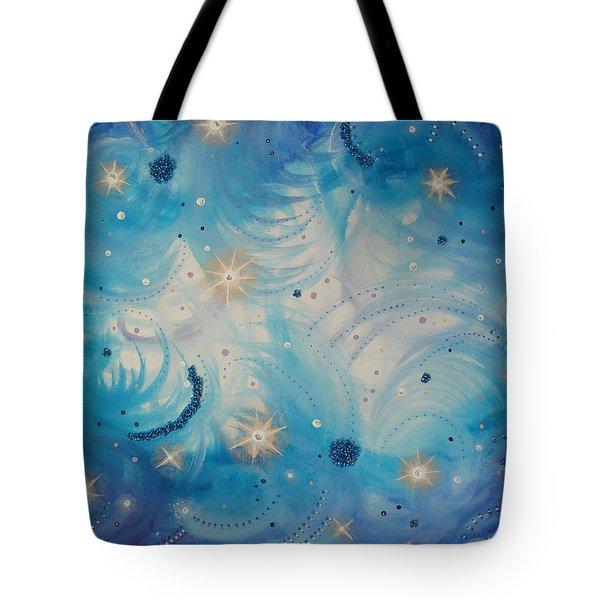 Heavens Skys Tote Bag