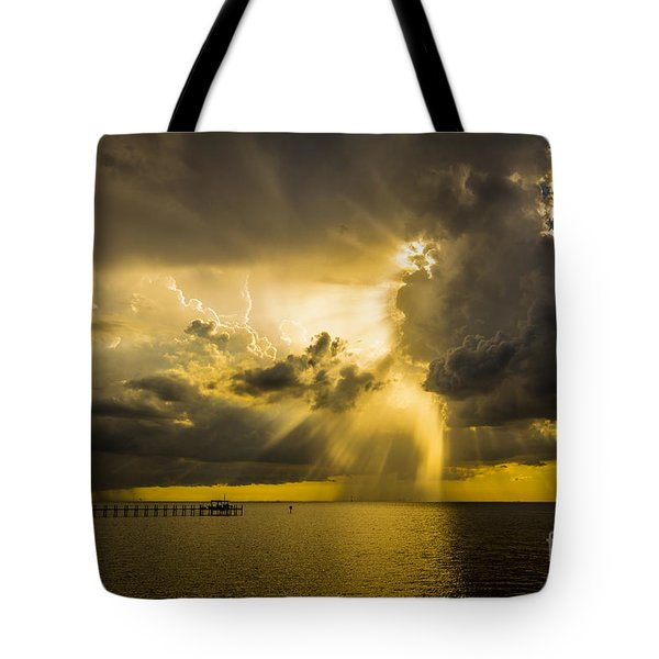 Heavens Window Tote Bag