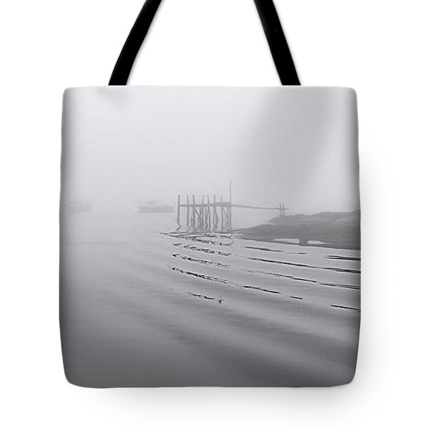 Heavy Fog And Gentle Ripples Tote Bag