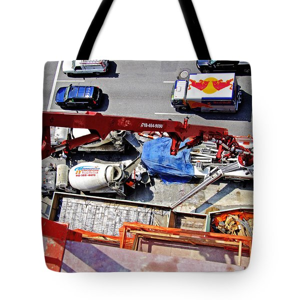 Heavy Lifting Pumper Tote Bag
