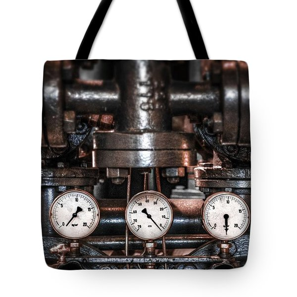Heavy Machinery Tote Bag by Carlos Caetano