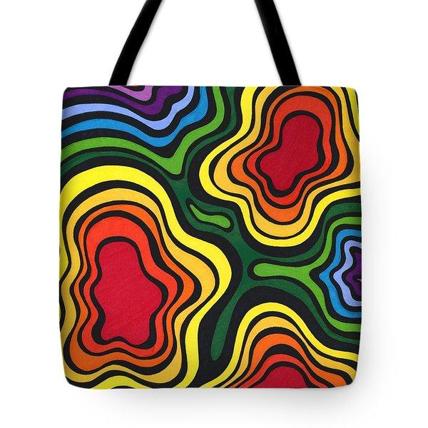 Heavy Rain Tote Bag by Mandy Shupp