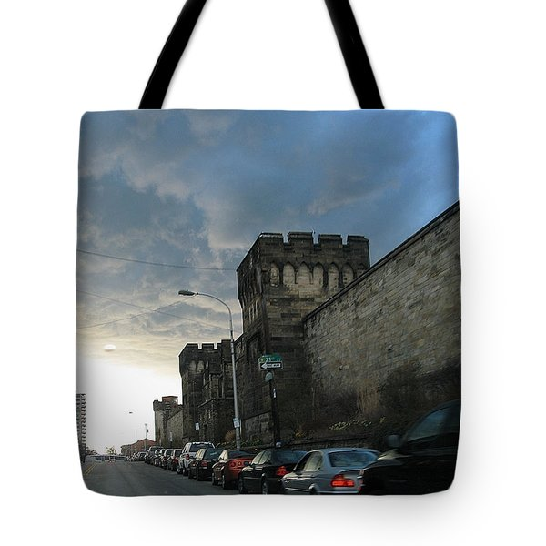 Heavy Weather Over Eastern State Tote Bag