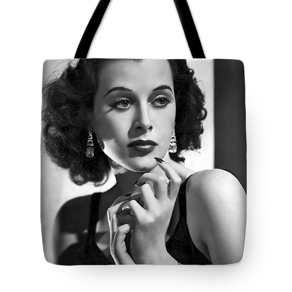 Hedy Lamarr - Beauty And Brains Tote Bag
