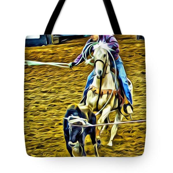 Heeling Tote Bag by Alice Gipson