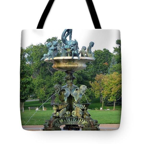 Heffelfinger Fountain Tote Bag