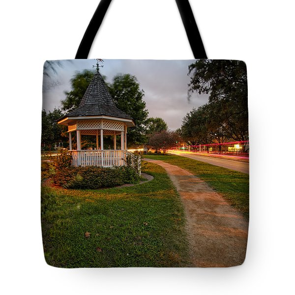 Heights Boulevard Gazebo Tote Bag