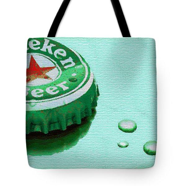 Heineken Cap Green Tote Bag
