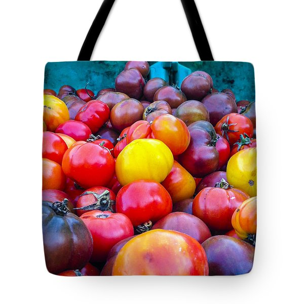 Heirloom Tomatoes V. 2.0 Tote Bag by Dennis Reagan