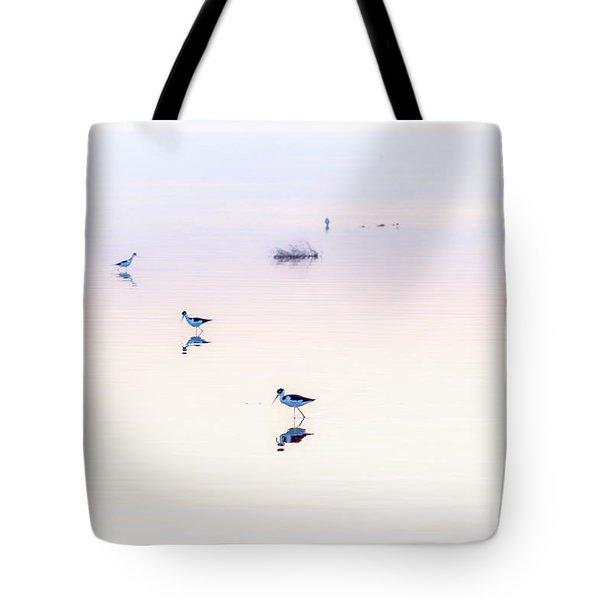Heiwa I Tote Bag by Peter Tellone