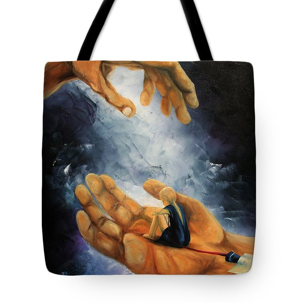 Held Tote Bag by Meaghan Troup