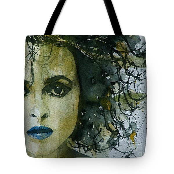 Helena Bonham Carter Tote Bag by Paul Lovering